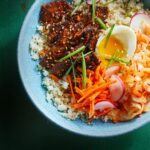 Korean Steak, Kimchi & Cauliflower Rice Bowls – Healthy Recipes Korean