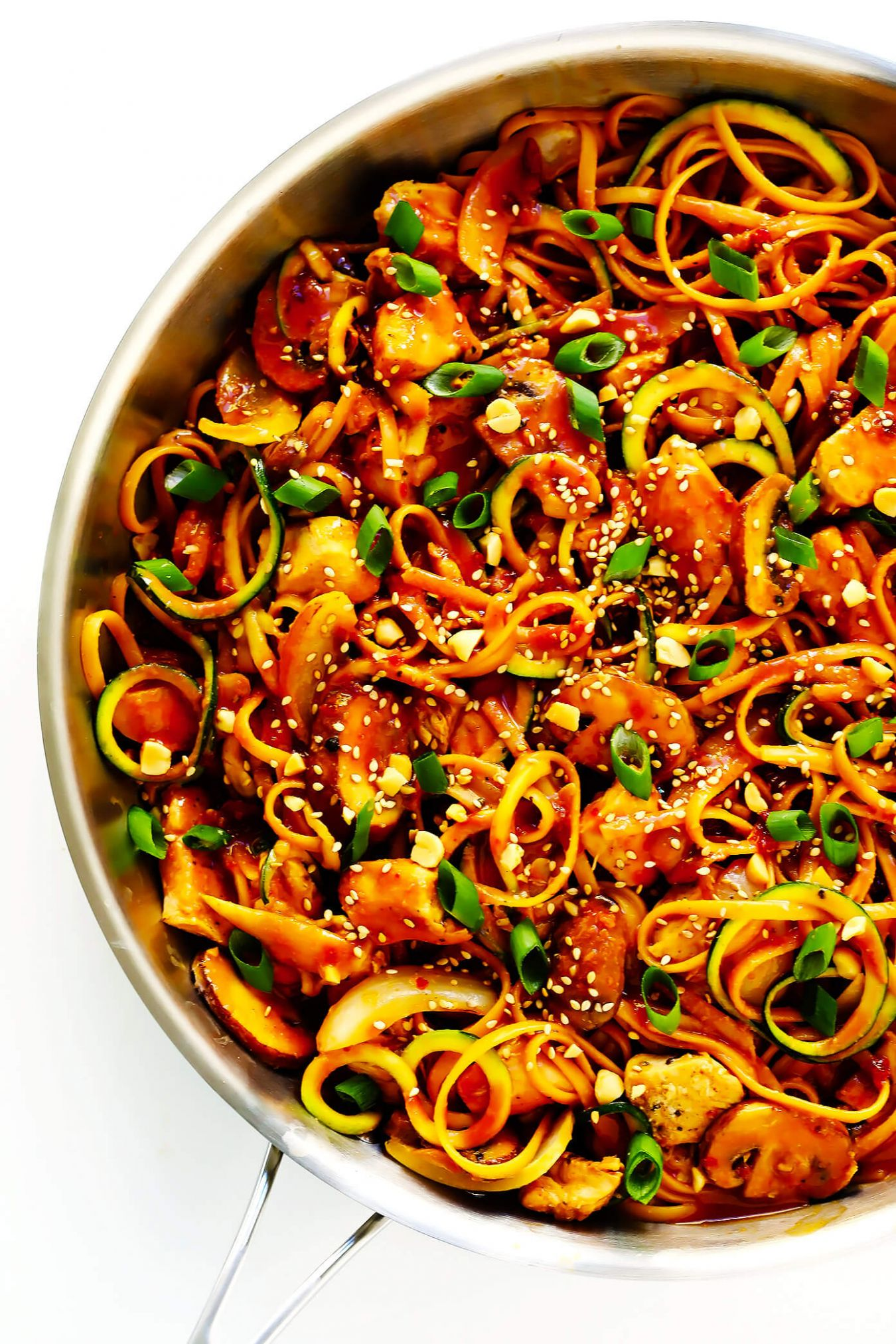 Kung Pao Chicken Noodle Stir-Fry - Recipes Chicken Noodles