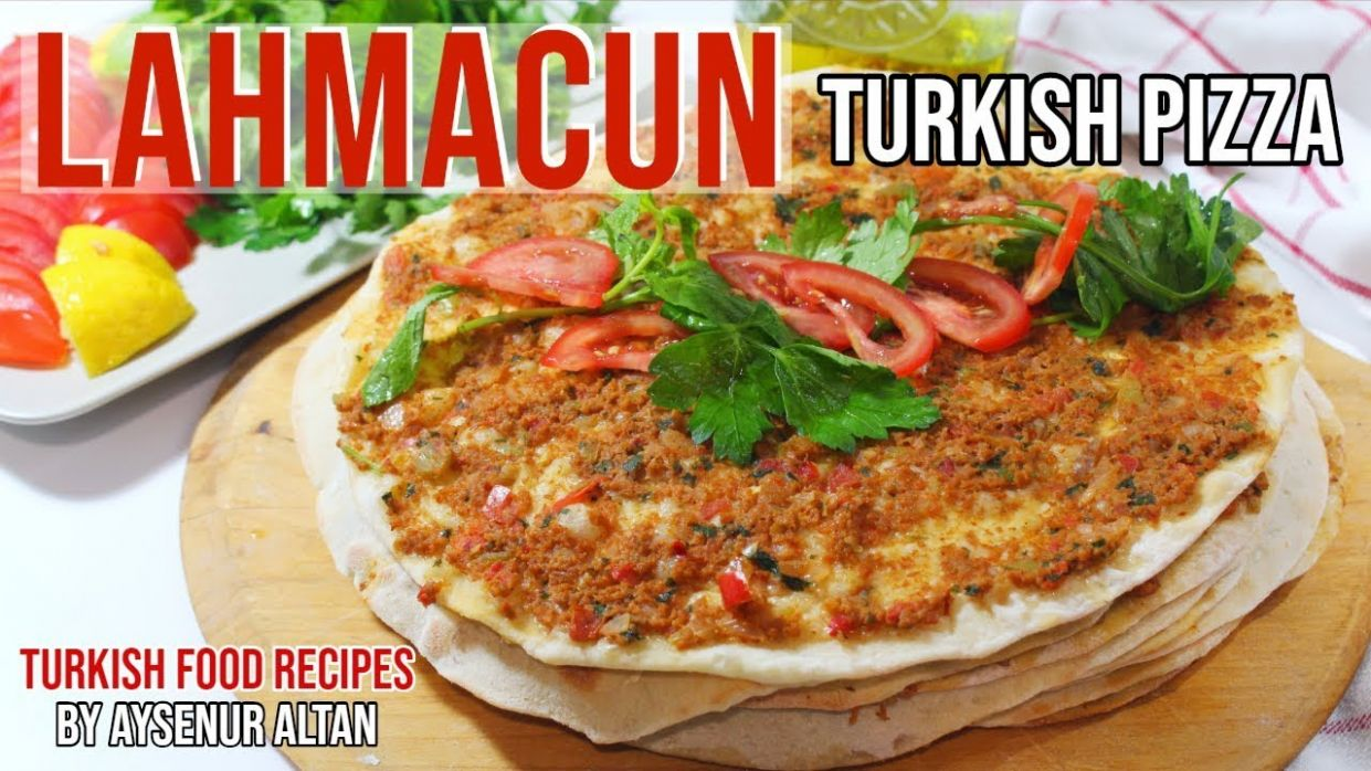 Lahmacun Recipe - How To Make Lahmacun In A Pan Without Oven - Turkish Food Recipes Youtube