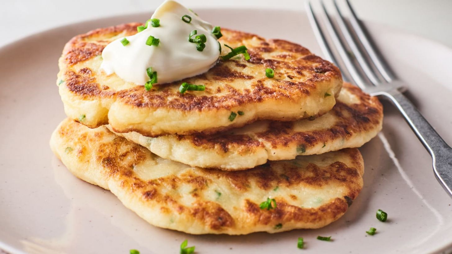 Leftover Mashed Potato Pancakes - Recipes Potato Pancakes