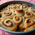 "Leftover pizza dough used to make ""croissant-folded Cinnamon rolls ..."