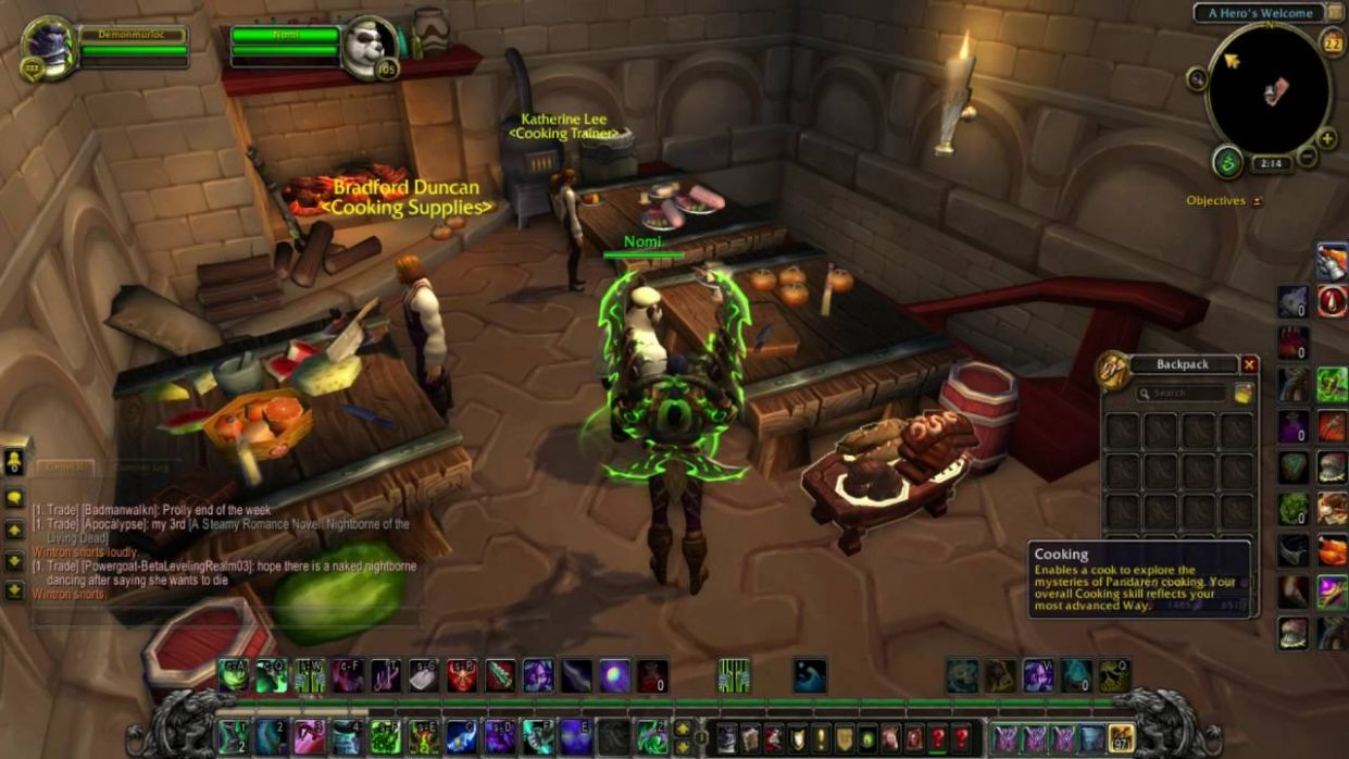 Legion Cooking - How you unlock recipes and how it works. - Recipes Cooking Wow 3.3