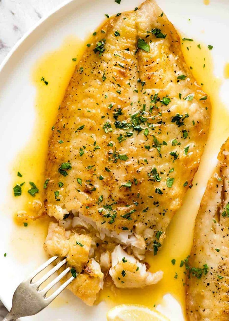 Lemon Butter Sauce for Fish - Recipe Fish With Lemon Butter Sauce