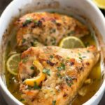 Lemon Garlic Roasted Chicken – Step By Step Photos – Budget Bytes – Recipes With Chicken Breast Rib Meat
