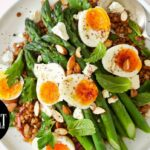 Lentil And Asparagus Salad With Egg And Sumac | Gourmet Traveller – Salad Recipes Gourmet Traveller