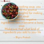 Life Is Like A Cooking So… | Quotes & Writings By Bhanu Prakash ..
