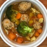Light Italian Meatball Soup – Diabetic Italian Wedding Soup – Soup Recipes For Diabetics