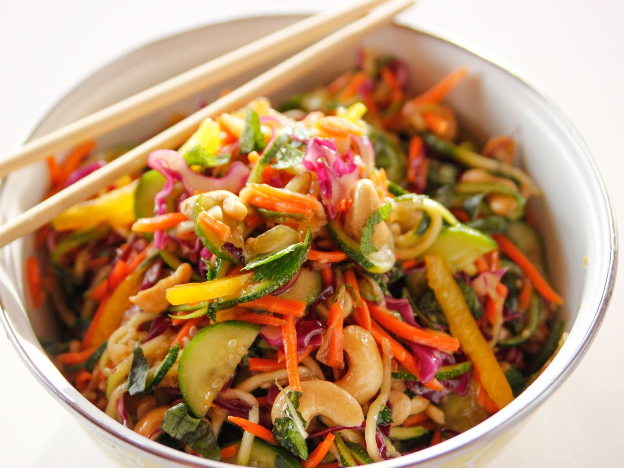 Lighter Asian Noodle Salad - Healthy Recipes Ree Drummond