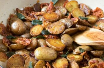 Little Potatoes with Crispy Prosciutto and Sage - A Family Feast®