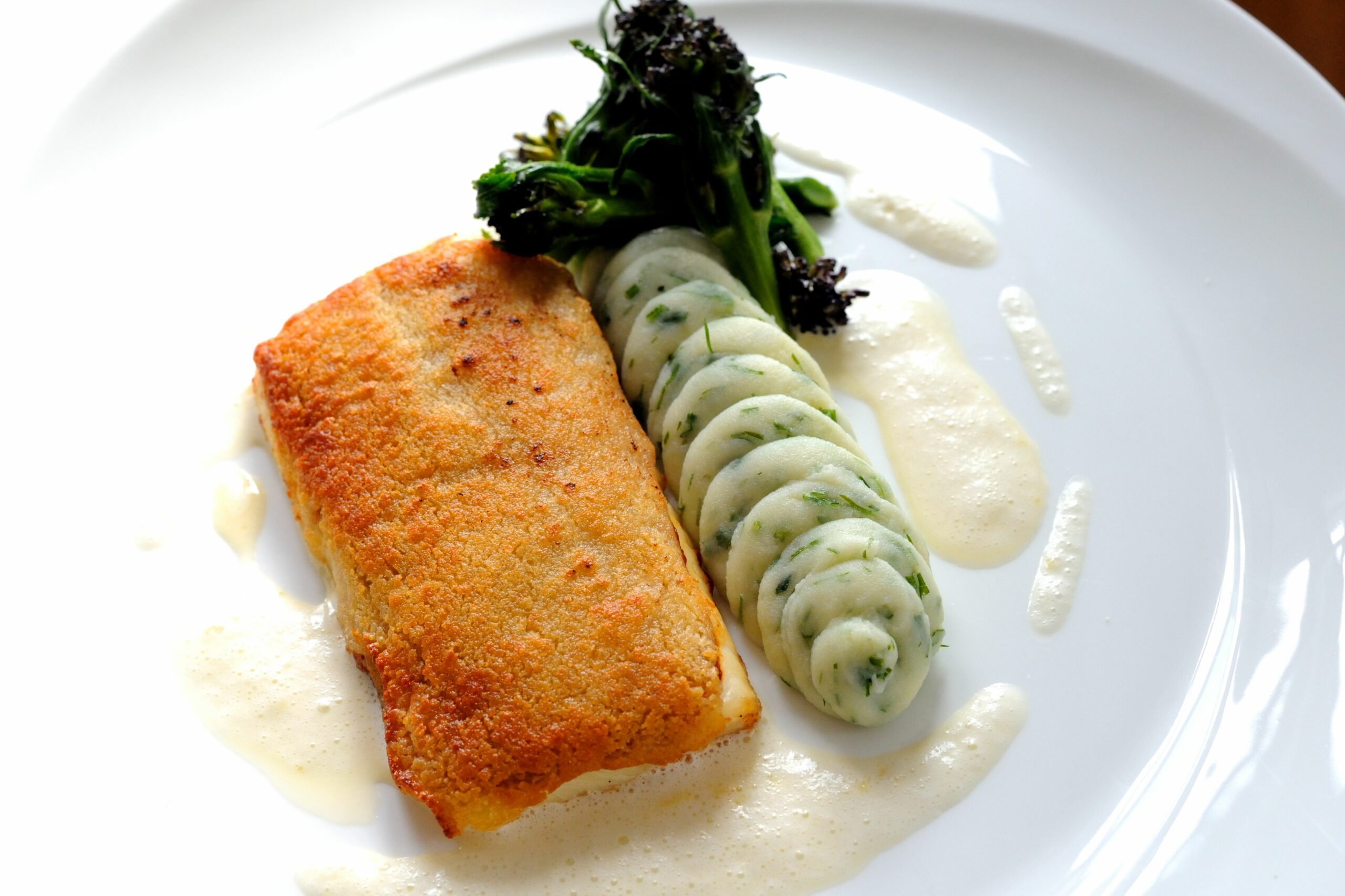 Local plaice 'Viennoise' - Recipes Cooking Plaice Fillets