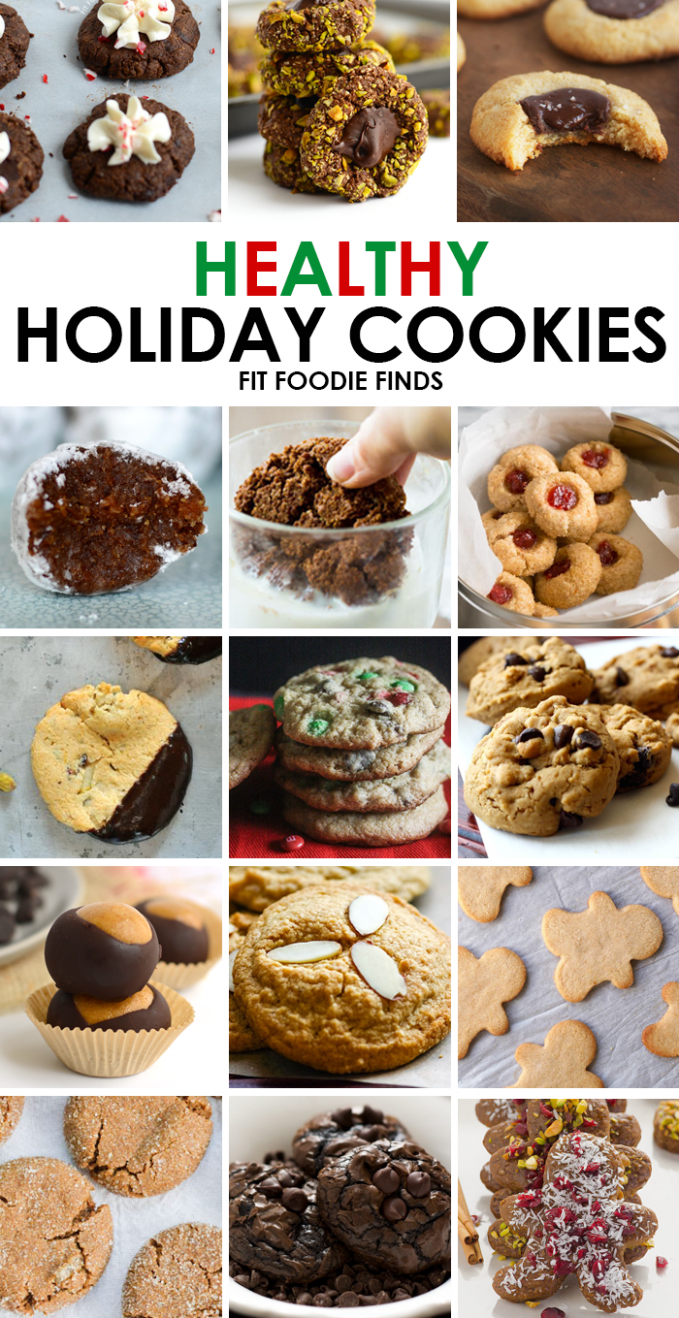 Looking for healthy Christmas cookies? This is your one stop shop ..