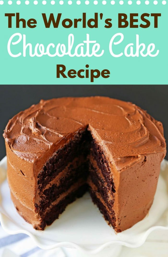 Love at First Sight Chocolate Cake - Recipes Chocolate Cake Homemade
