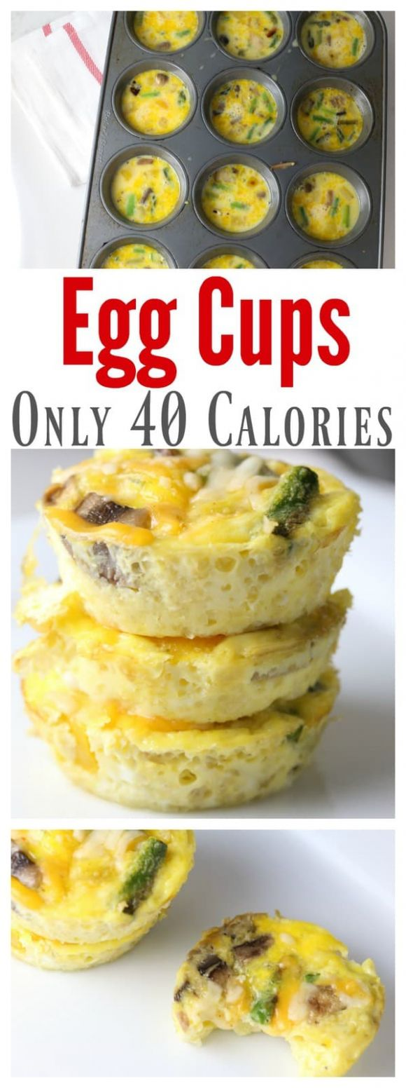 Low-Calorie Egg Cups - Your Modern Family - Egg Recipes Low Calorie