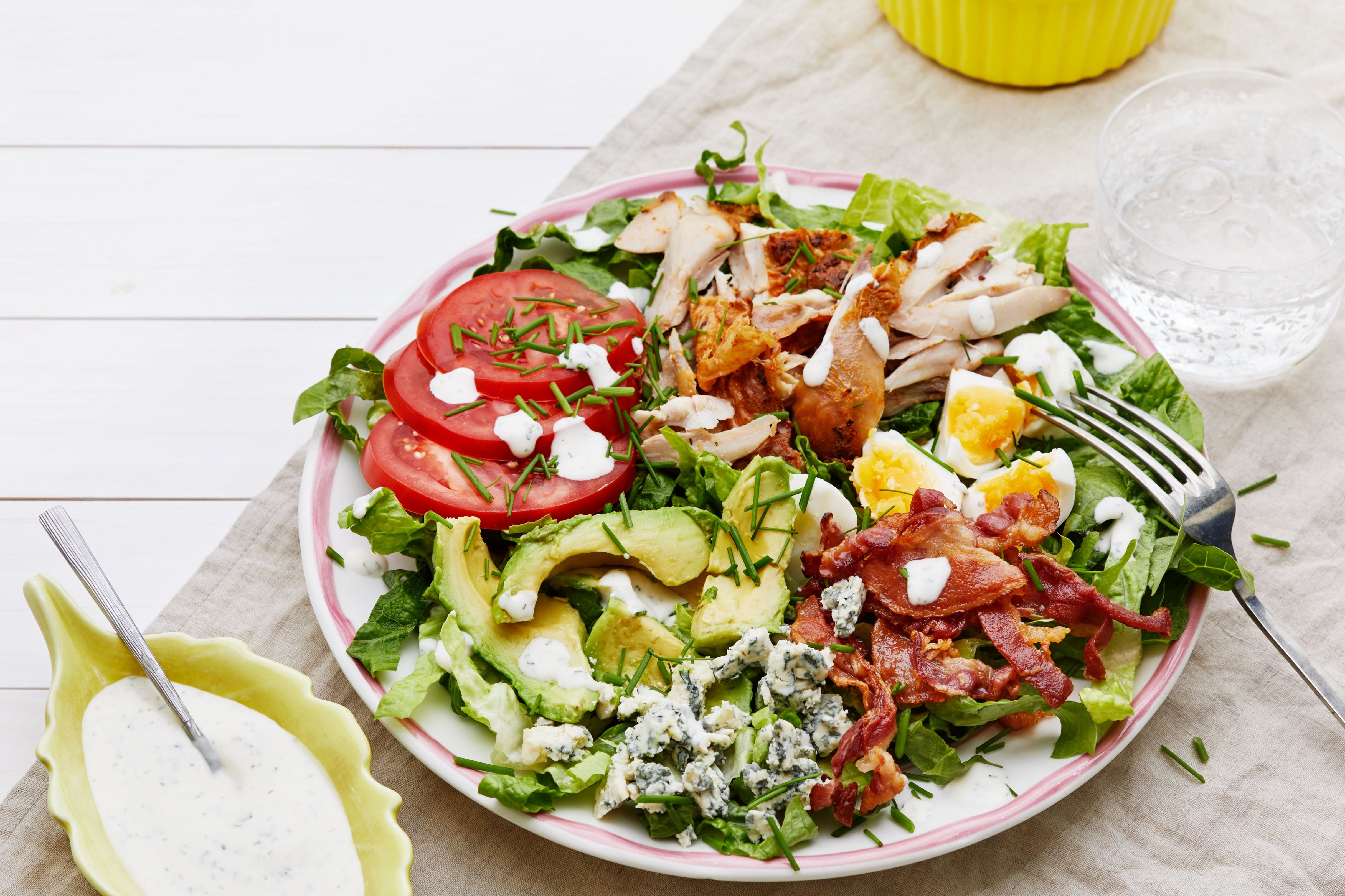 Low-Carb and Keto Salads – Recipes – Diet Doctor - Salad Recipes Low Fat