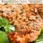 Low Carb Baked Chicken Tenders – The Chunky Chef – Recipes Chicken Breast Tenders