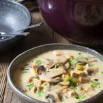 Low Carb Creamy Chicken Mushroom Soup (Video) – A Spicy Perspective – Recipe Chicken Breast With Cream Of Mushroom Soup