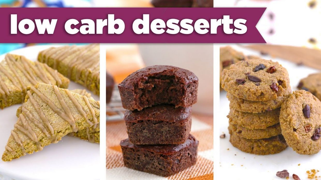 Low Carb Desserts for Fall! Healthy Gluten Free & Keto Recipes - Mind Over  Munch - Low Carb Dessert Recipes