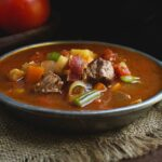 Low-Carb Slow-Cooker Vegetable Beef Soup