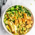 Low Carb Vegan Dinner Bowl – Vegetable Recipes Easy Healthy