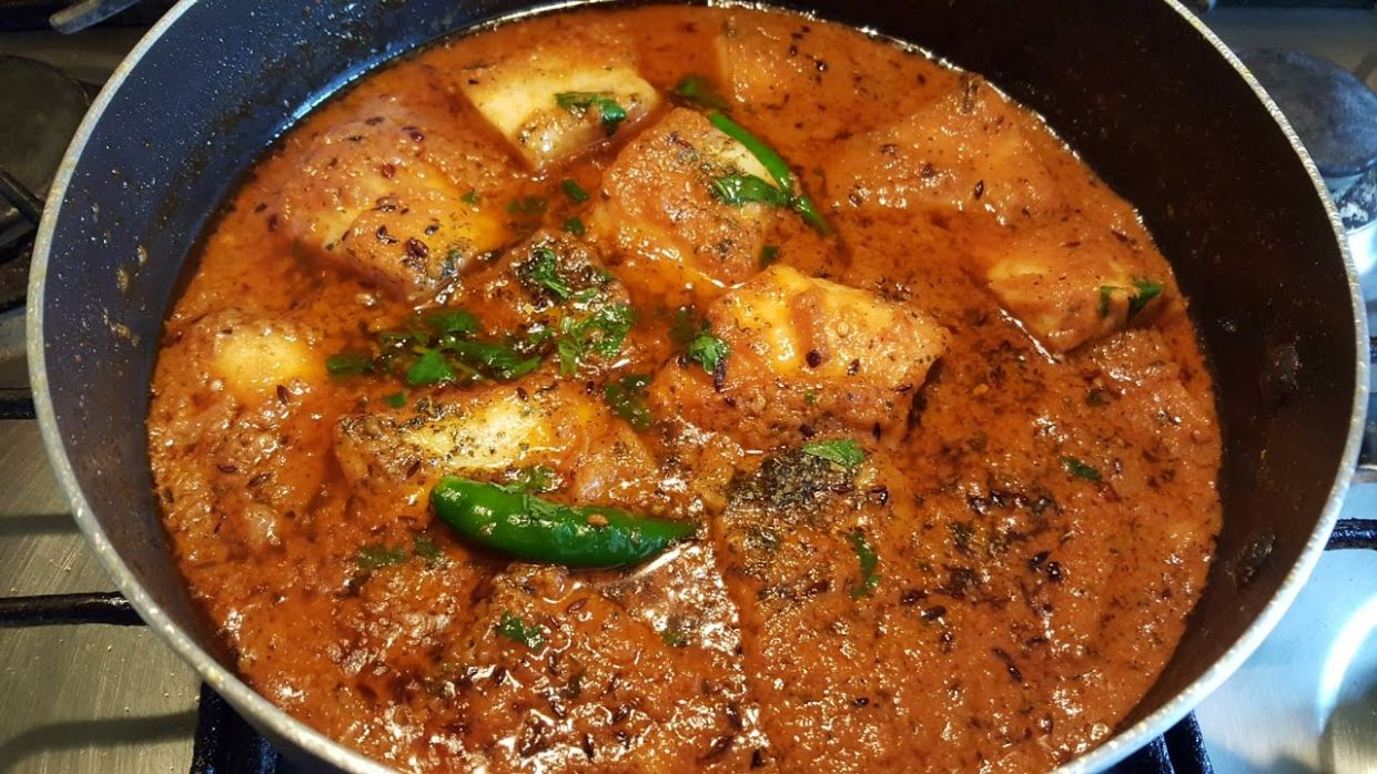Machli Ka Salan ( Fish Curry ) Hindi & urdu - Urdu Recipes Fish Ka Salan