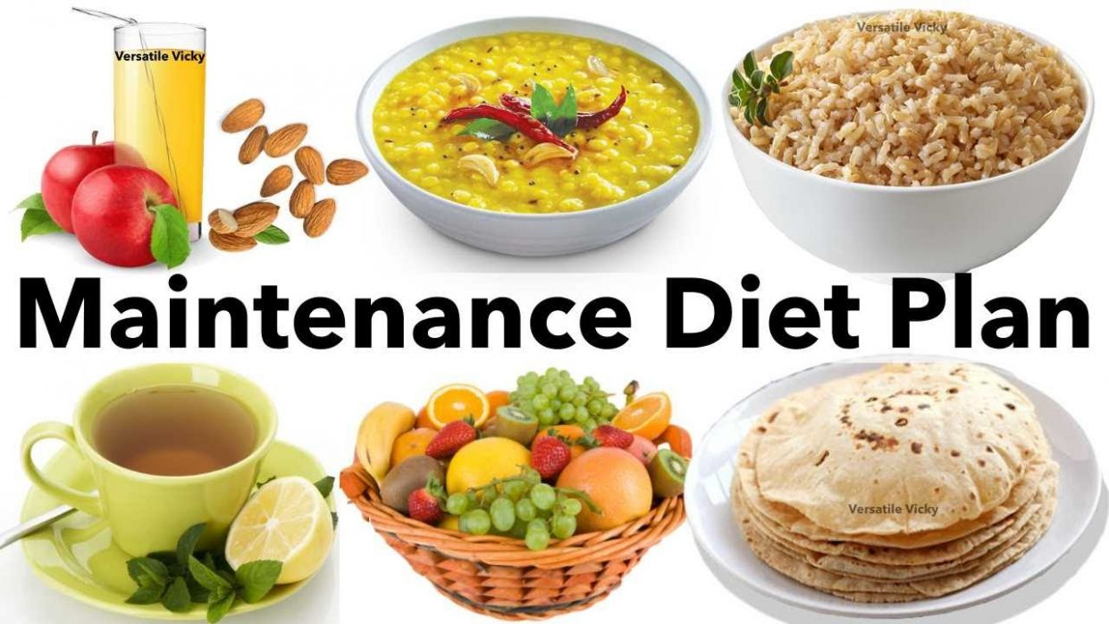 Maintenance Diet Plan - India | Indian Diet/Meal Plan For Weight Loss To  Lose 12Kg In 12 Days - Recipes For Weight Loss Maintenance