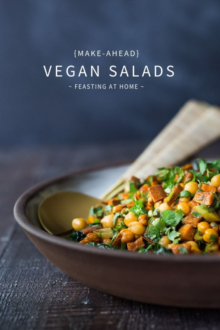 Make-Ahead Vegan Salads | Feasting At Home - Salad Recipes You Can Make Ahead