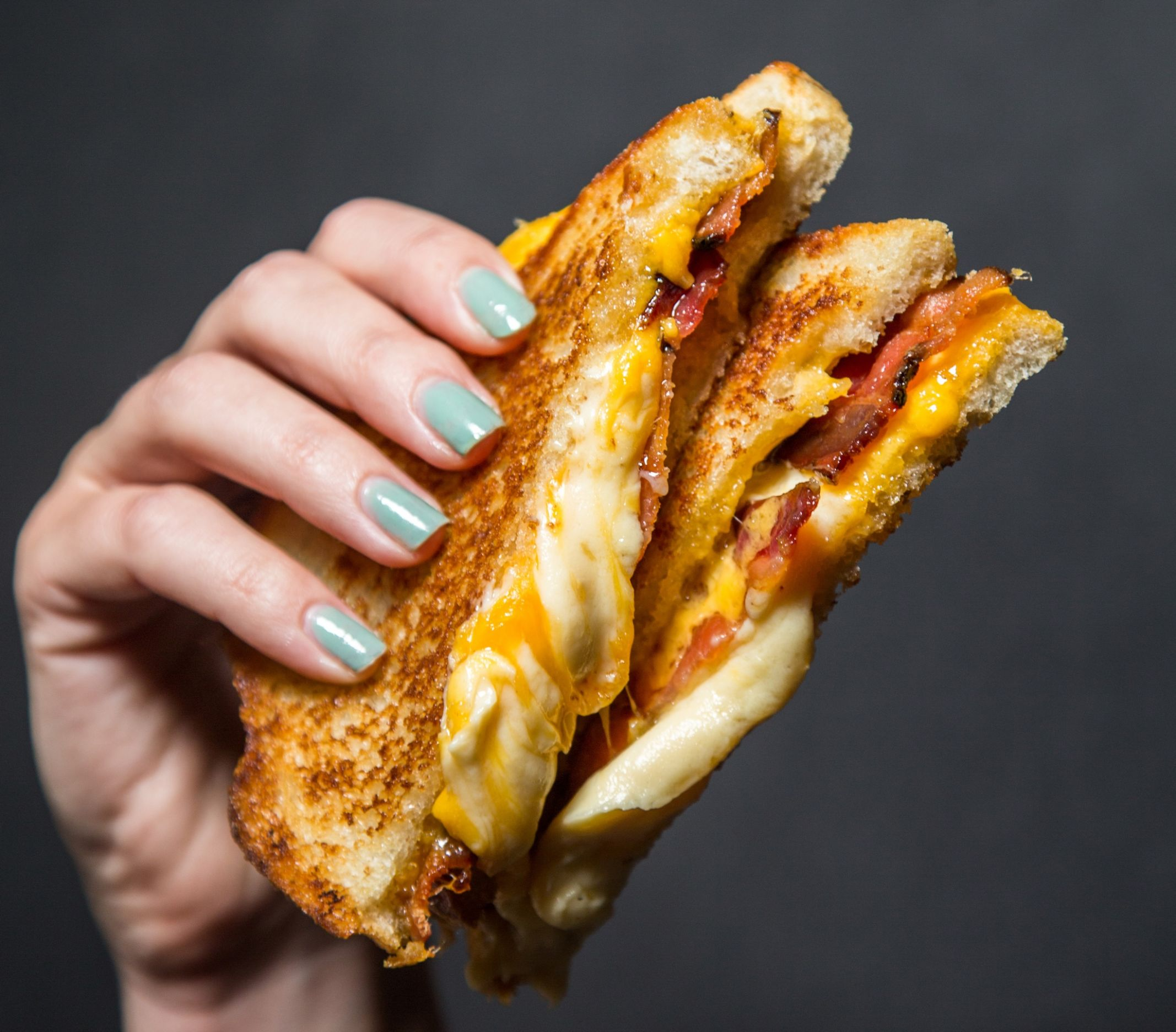 Make Melt's Maple Bacon Grilled Cheese - Recipes Sandwich Melts