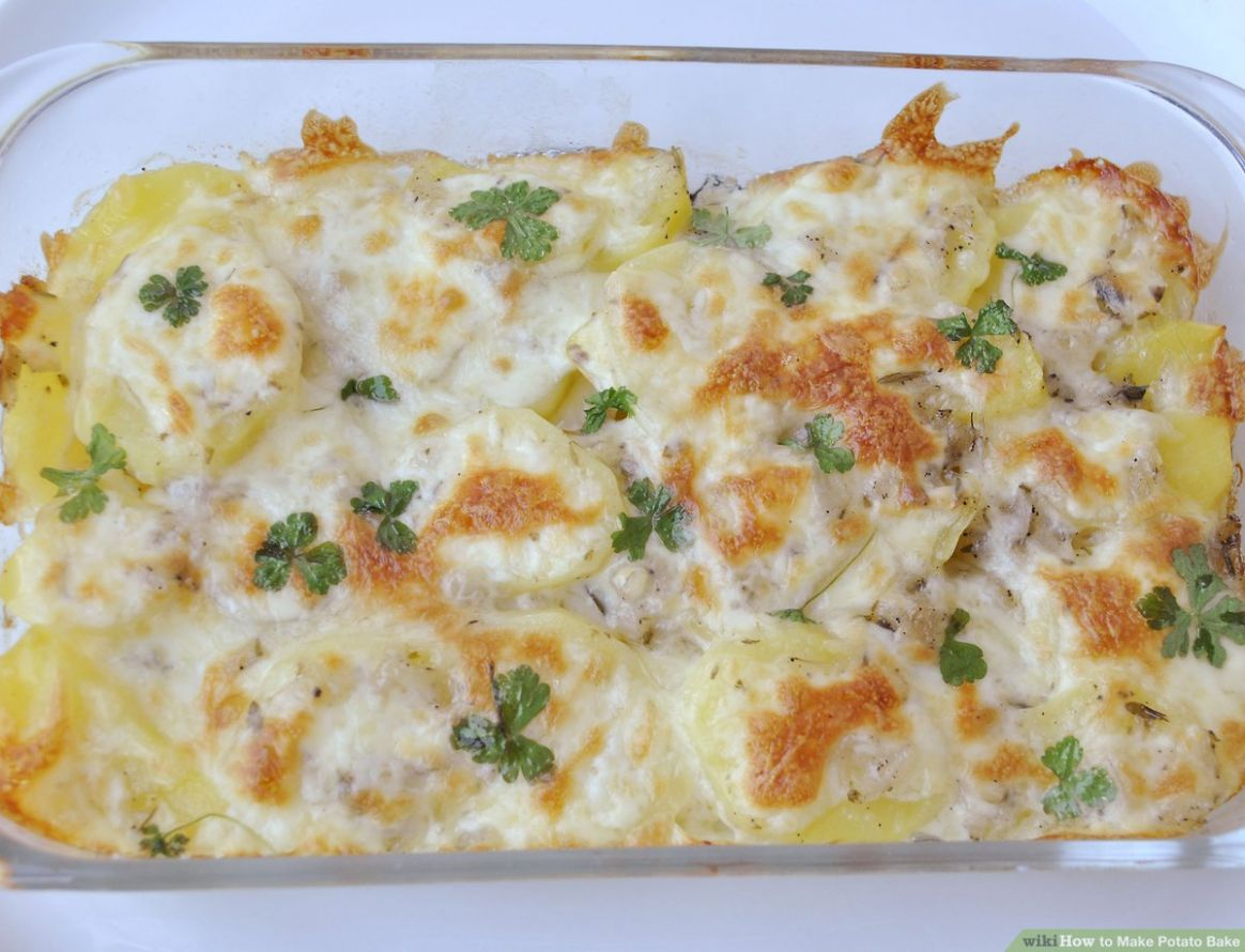 Make Potato Bake