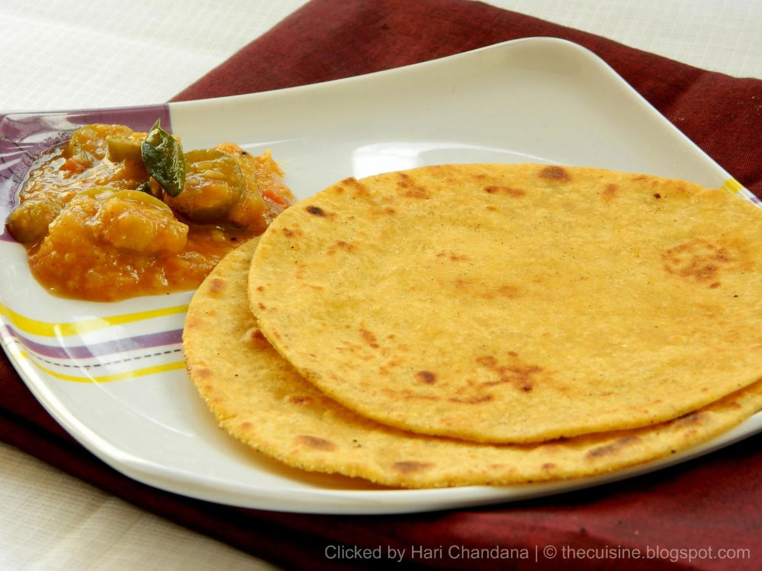 Makki Ki Roti ~ Indian Corn Flat Bread Recipe | Indian Cuisine ..