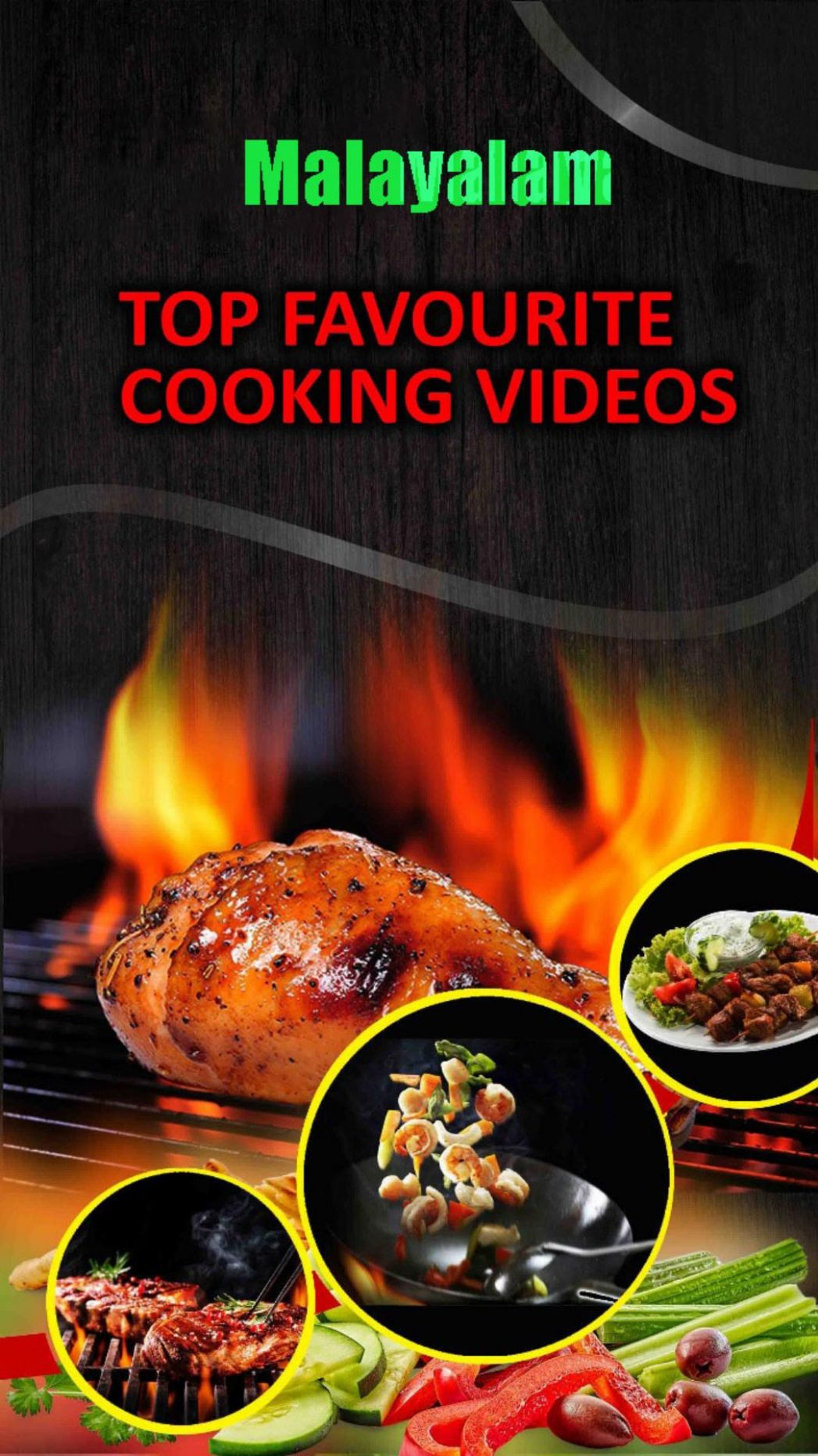 Malayalam Cooking recipes-food making videos pour Android ..