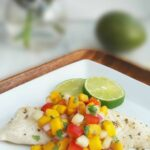 Mango Salsa Tilapia – Recipe Fish With Mango Salsa