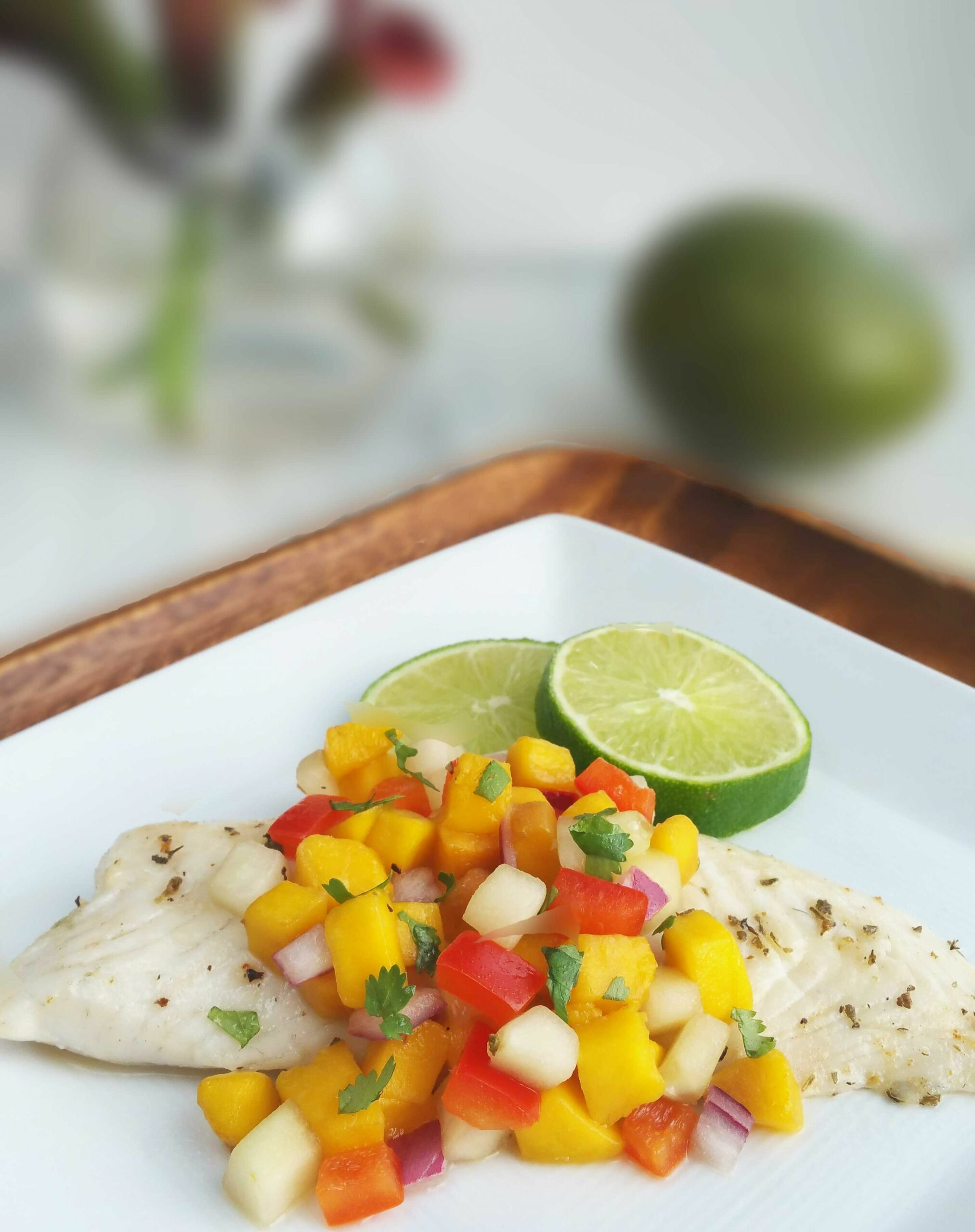 Mango Salsa Tilapia - Recipe Fish With Mango Salsa
