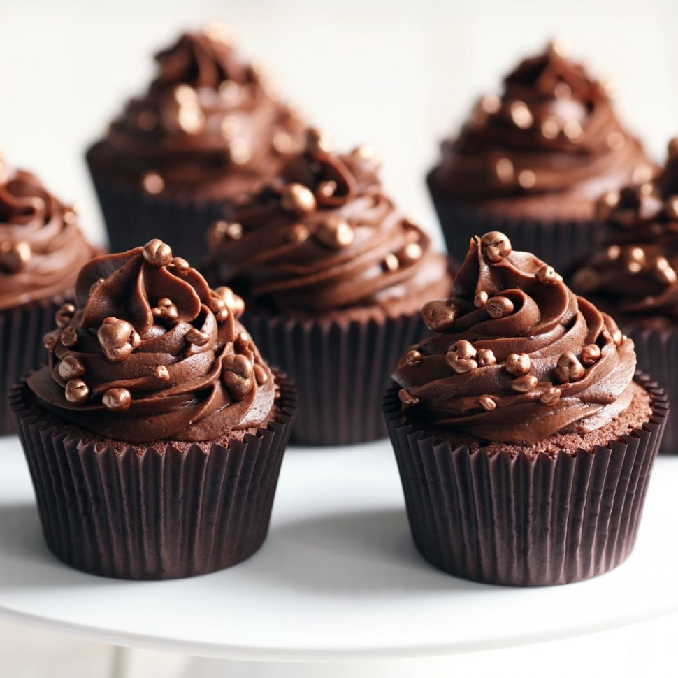 Mary Berry Chocolate Cupcakes by Mary Berry - Recipes Chocolate Cupcakes