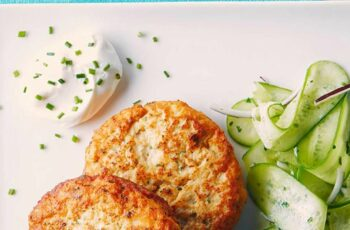 Mashed Potato & Chicken Patties