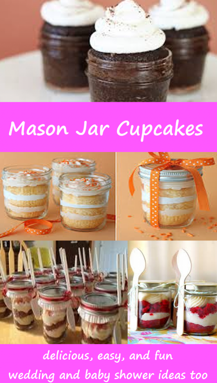 Mason Jar Cupcakes – Easy DIY Cupcakes and Cake in a Jar Recipes ..
