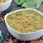 Masoor Dal with Spinach Video by Tarla Dalal