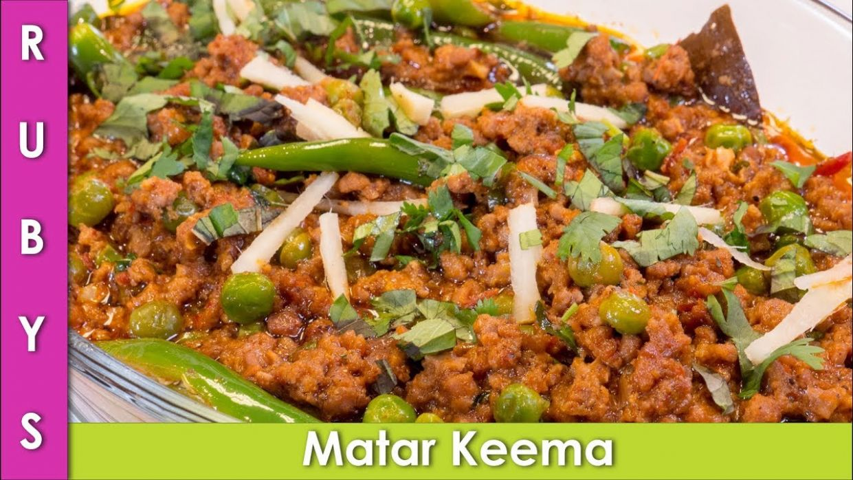 Matar Keema 9 Minute Mutton Queema Recipe in Urdu Hindi - RKK - Recipes In Urdu Youtube