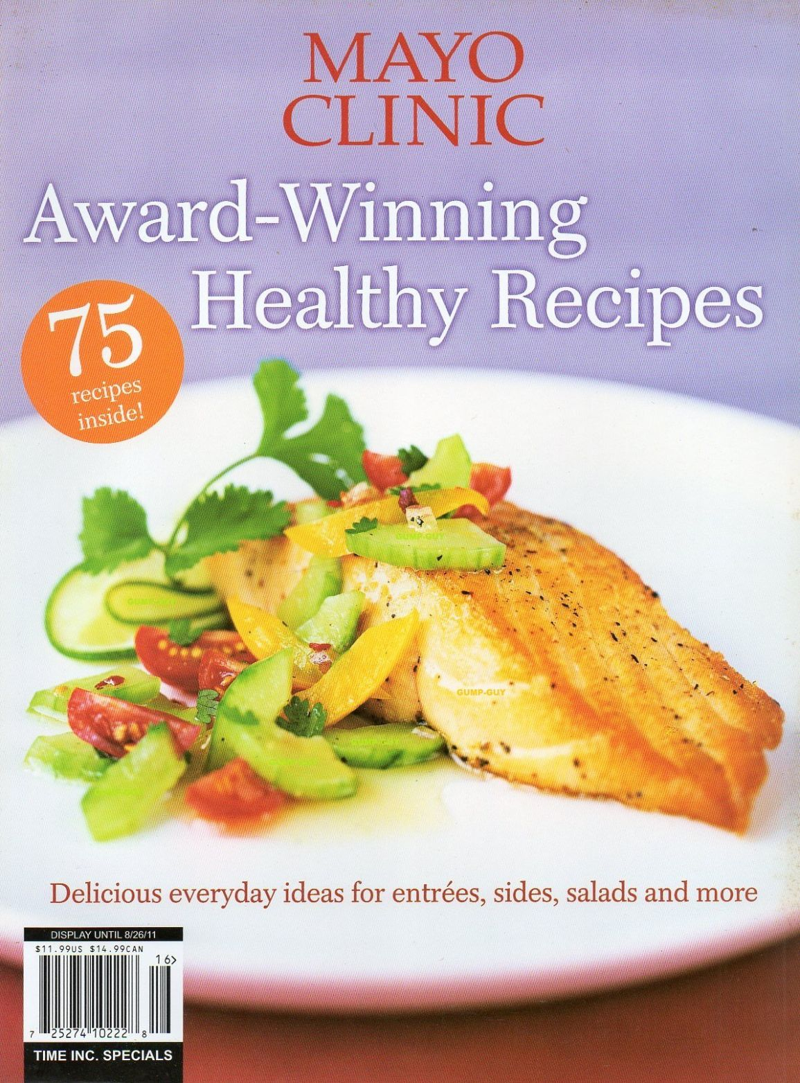 Mayo Clinic Award-Winning Healthy Recipes: Amazon