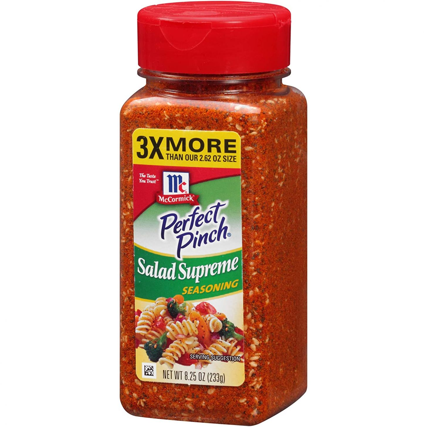 McCormick Perfect Pinch Salad Supreme Seasoning, 12