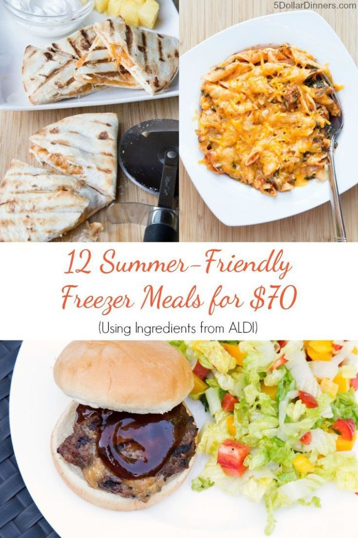 Meal Plan for Aldi (Or ANY Grocery Store) - 9 Summer Meals for ..