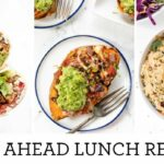 MEAL PREP LUNCH & DINNER RECIPES | Easy Make Ahead Meals – Dinner Recipes Easy Make