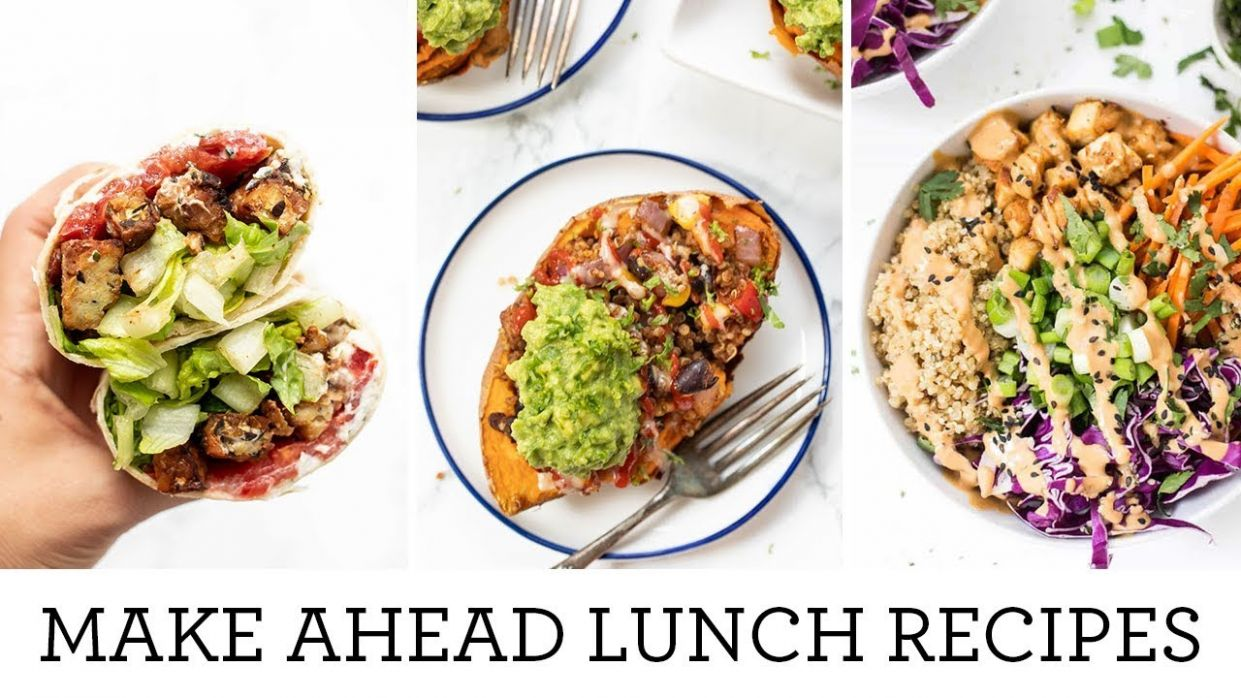 MEAL PREP LUNCH & DINNER RECIPES | Easy Make Ahead Meals - Dinner Recipes Easy Make