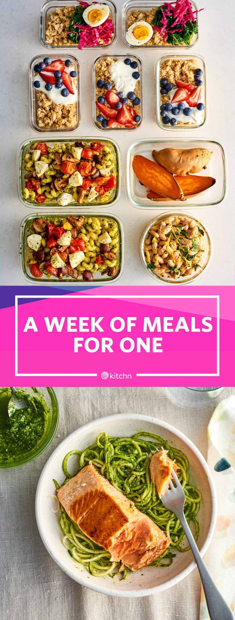 Meal Prep Plan: How I Prep a Week of Meals for One in Just Over an ..