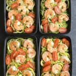 Meal Prep Shrimp Zucchini Noodles – Healthy Zucchini Recipes For Weight Loss