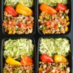 Meal Prep Turkey Taco Bowls – Healthy Recipes For Weight Loss Meal Prep