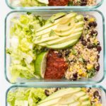 Meal Prep Vegetarian Quinoa Burrito Bowls – Recipes Vegetarian Meals