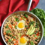 Meal Prep Veggie Breakfast Hash – Egg Recipes Low Carb