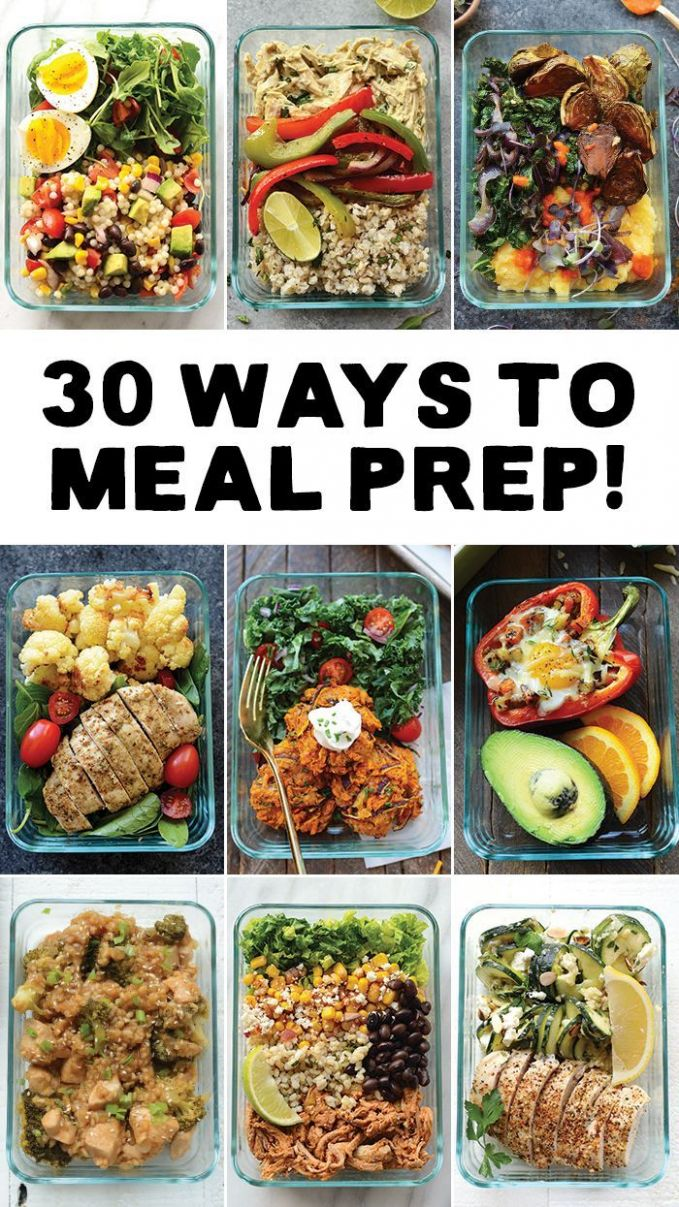 Meal Prep your way in to 12 with 12 different ways to meal prep ..