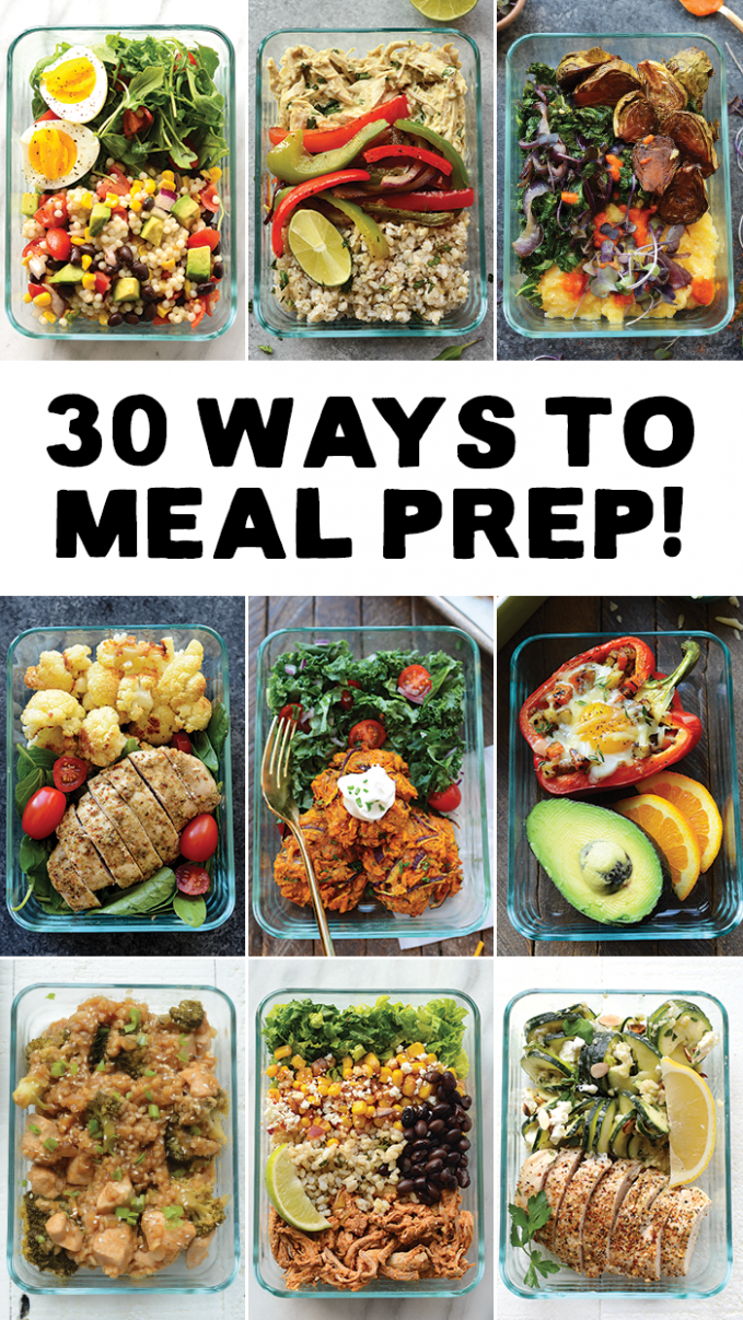 Meal Prep your way in to 9 with 9 different ways to meal prep ..