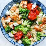 Mediterranean Chicken Quinoa Bowl With Broccoli And Tomato – Simple Recipes Quinoa
